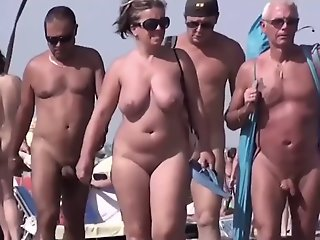 Sluts on a beach in my..