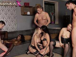 MARISKAX Orgy at hand..