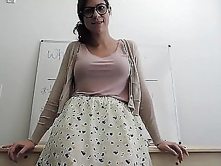 Young Hot and Horny Teacher