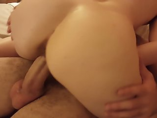 Hotwife Rides Young Hung..